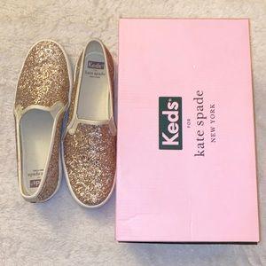 Keds x Kate Spade NY Double Decker Glitter Sneaker